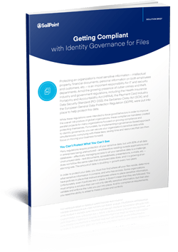 Getting Compliant with Identity Governance for Files