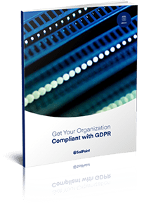Get your organization compliant with  GDPR ebook