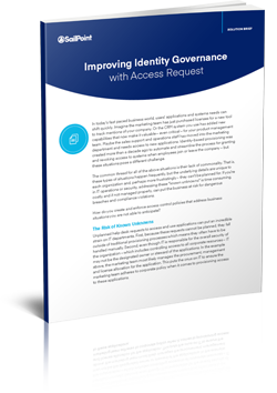Improving Identity Governance with Access Request Solution Brief Thumbnail