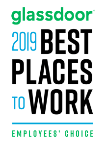 Glassdoor 2019 great place to work award
