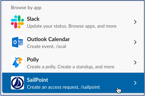 SailPoint Slack integration demo